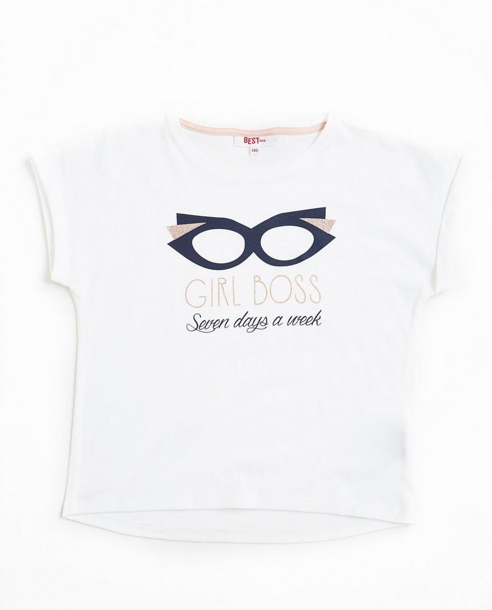T-Shirt mit Print - in Hellgrau - Best price